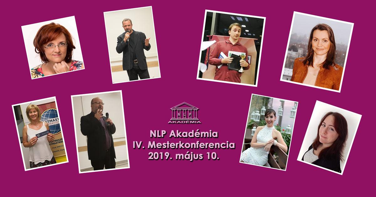 IV. NLP Akadémia Mesterkonferencia